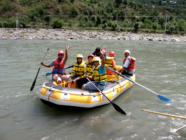 River Rafting in Himachal Pradesh